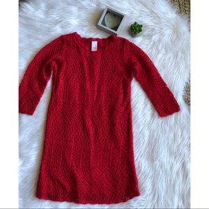 NWOT Cat & Jack Sweater Dress Size 10-12